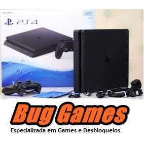 Ps4 Desbloqueado Destravado 500gb +50 Jogos Escolha + Online