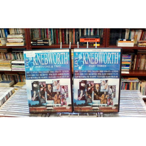 Dvd Live At Knebworth Part One E Two E Part Three-original