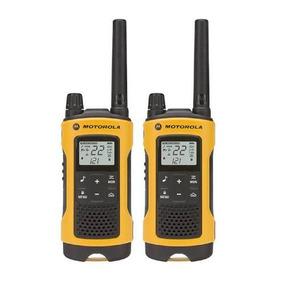 Radio Motorola T400mc Walk Talk Alcance Até 56km 22 Canais