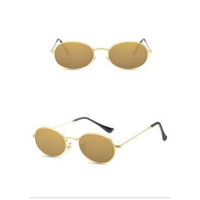 af68858440e76 Oculos Espelhado Dourado De Sol Polaroid - Óculos De Sol Sem lente ...