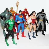 Liga Justicia X7 Figuras Héroes Dc Superman Batman 09439