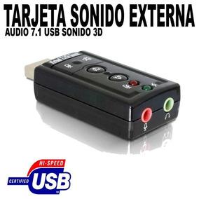 Tarjetas De Sonido Usb 7.1 Channel Sound