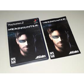 Ps2 Headhunter Original Black Label Completo Confira!