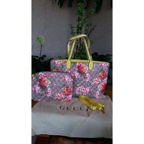Liquidación Bolsa Gucci Reversible Blooms Excelente Calidad