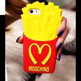 Capinha Capa Case Batata Frita Moschino Apple Iphone 4/4s