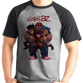 9598c53fe Gorillaz Cosplay - Camisetas Manga Curta para Masculino em Praia ...