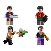 Kit Bonecos The Beatles Versão Yellow Submarine