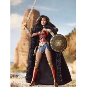 Hermosa Barbie Wonder Woman Black Label Original