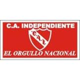 Bandera Independiente El Rojo - 150x75cm - Nueva!