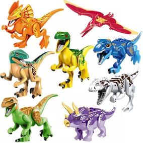 Kit Jurassic World - Com 8 Dinossauros