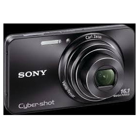 Camara Sony Cyber Shot + 16.1mpx + Zoom 5x + Video Hd + New