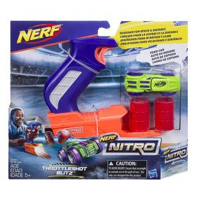 Nerf Nitro Throttleshot Blitz, Azul Original