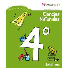 Ciencias Naturales Proy. Bicentenario 4º Santillana