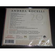 Andrea Bocelli Romanza Edicion 20 Aniv 3 Bonus Cd Sellado