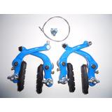 Freio U Brake Pro-x Jogo Completo Bmx Aro 20 Bike Cores