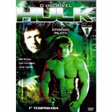 O Incrivel Hulk 1° Temporada Vol 1[dvd Novo De Fabrica]