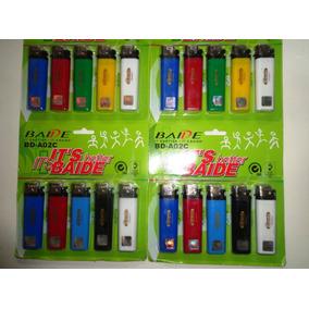 Isqueiro Em Cartelas Hiper-baide-150f-coloridos 20 Unidades