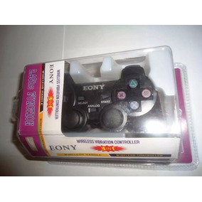 Manete Controle Sem Fio Playstation 2 Playstation 3 E Pc