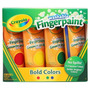 Crayola 4ct Lavable Pinturas Primario (en Negrilla, Colores