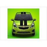 Sticker Franja Linea Deportiva Tipo Rally Para Spark