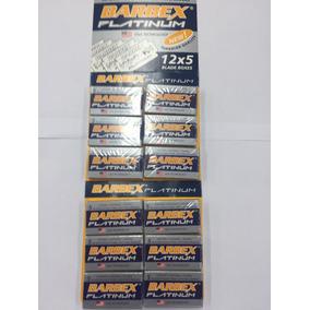 Lâmina Barba Barbex Platinum Cartela Com 60 Unidades