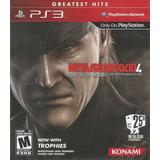 Metal Gear Solid Iv Ps3 Usado, Fisico, Garantizado
