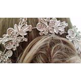 Enfeite Cabelo Arranjo Noiva Debutante Coroa Madrinha Coque