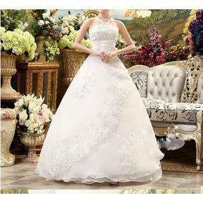 Vestido De Noiva Plus Size Tam. 56/58 Pronta Entrega No Bras