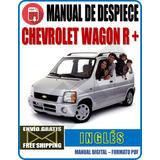 Manual De Despiece Chevrolet Wagon R Myp