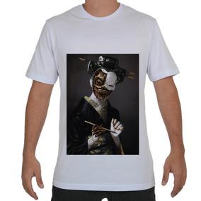 Camisa Mcd Gueixa - Camisas no Mercado Livre Brasil 2eb0fcf24d7