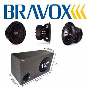 Alto Falante Subwoofer Bravox Edx 12