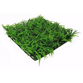 Placa De Planta Plástica P/ Decoração Aquário Lagos Jardins
