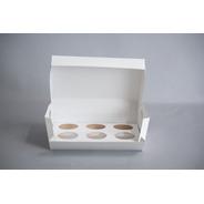 Caja Cupcake X6 (x 50 U.) Muffin  030 Bauletto
