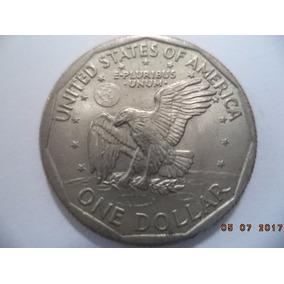 Moeda 1 Dollar 1979 - Estados Unidos - Letra D - Dólar - Usa