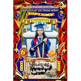 Diplomas En Papel Fotografico O Glasse 300gr Preescolar Sext