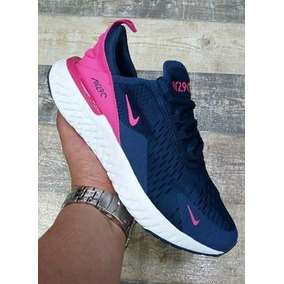 Zapatillas Nike Mujer Air Max Tenis Azul en Mercado Libre