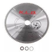 Hoja Sierra Circular Para Madera Y Aluminio 250mm 100d Disco Melamina Mdf Madera Perfil De Aluminio