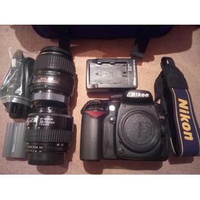 Camara Profesional Nikon D90 + 2 Lentes Y 2 Baterías Oferta!