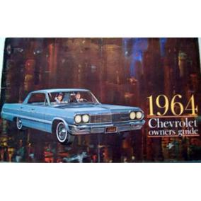 Automóvel - Manual Do Proprietário Chevrolet 1964 Ok!