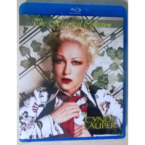 Bluray Cyndi Lauper Historical Collection Frete Grátis