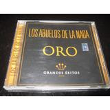 Cd Los Abuelos De La Nada Colección Oro 16 Tracks