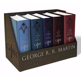 Game Of Thrones Juego De Tronos Box Set 5 Ingles Ed. De Lujo