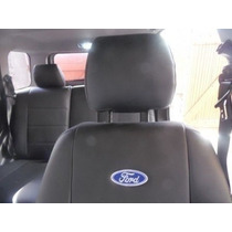 Capa Banco Couro Automotivos P/ New Fiesta Hatch 2012/2017