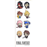 Plancha De Stickers De Videojuegos Final Fantasy Cloud Squal