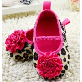 Sapato Menina Oncinhacom Laço Rosa