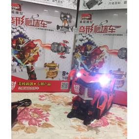 Transformers 5 Bugati Samurai Drift Controle Remoto Vermelho