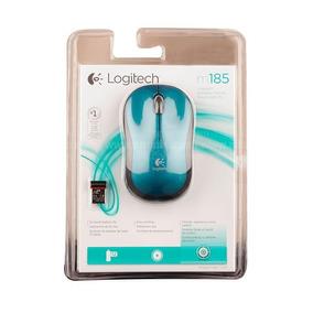 Mouse Optico Usb Inalambrico Logitech M185 2.4 Ghz