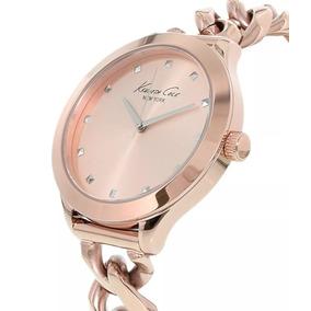 Relógio Kenneth Cole Rose Gold 10027347 New York Original