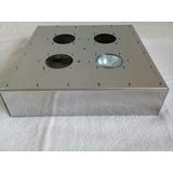 Base Quadrada 15cm Chapa De 1mm