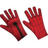 Traje De Rubie Spider-man Homecoming Costume Gloves
